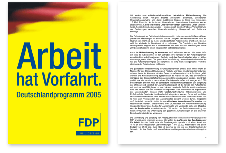 Wahlprogramm FPD