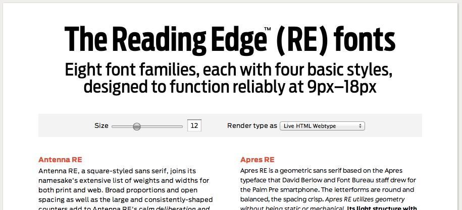 The Reading Edge